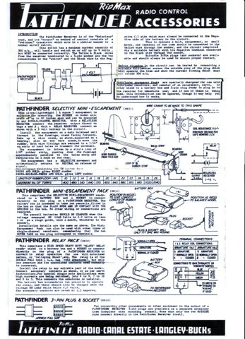 phil shauns single channel and vintage r c nostalgia page m21 ripmax pathfinder instructions 1
